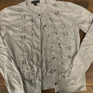 Ann Taylor Beaded Cardigan